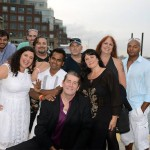 cast of 'Spin the Plate' on Camp 9 Films-Hollywood East 1st annual cruise
