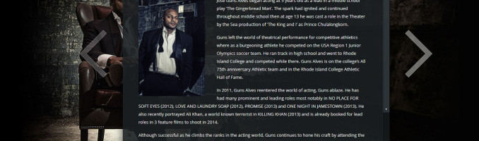 Jose Guns Alves Launches New Website
